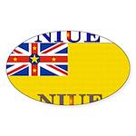 Niue.jpg Sticker (Oval 10 pk)