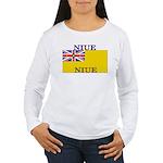 Niue.jpg Women's Long Sleeve T-Shirt
