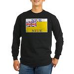 Niue.jpg Long Sleeve Dark T-Shirt