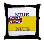 Niue.jpg Throw Pillow