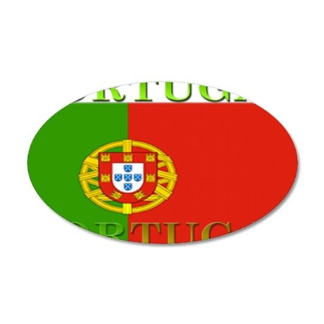 Portugal.jpg 35x21 Oval Wall Decal