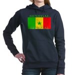 Senegal.png Women's Hooded Sweatshirt
