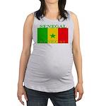 Senegal.png Maternity Tank Top