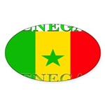 Senegal.png Sticker (Oval 50 pk)