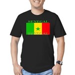 Senegal.png Men's Fitted T-Shirt (dark)