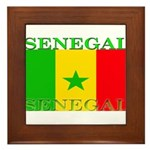Senegal.png Framed Tile