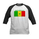 Senegal.png Kids Baseball Jersey