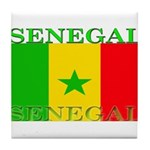 Senegal.png Tile Coaster