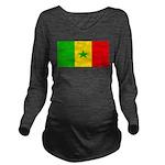 Senegalblank.png Long Sleeve Maternity T-Shirt