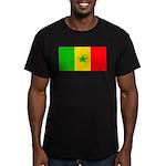Senegalblank.png Men's Fitted T-Shirt (dark)