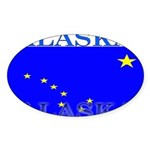 Alaska.png Sticker (Oval 10 pk)