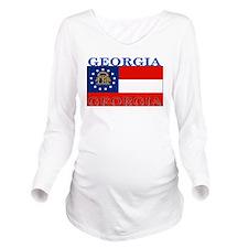Georgia.png Long Sleeve Maternity T-Shirt
