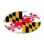 Marylandblank.png 35x21 Oval Wall Decal