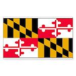 Marylandblank.png Sticker (Rectangle 50 pk)