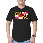 Marylandblank.png Men's Fitted T-Shirt (dark)
