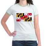 Marylandblank.png Jr. Ringer T-Shirt