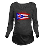 Ohio.png Long Sleeve Maternity T-Shirt
