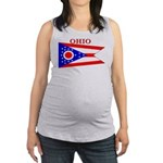 Ohio.png Maternity Tank Top