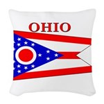 Ohio.png Woven Throw Pillow