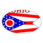 Ohio.png Sticker (Oval 10 pk)