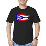Ohio.png Men's Fitted T-Shirt (dark)