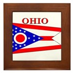 Ohio.png Framed Tile