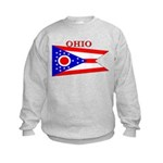 Ohio.png Kids Sweatshirt