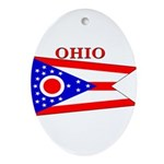 Ohio.png Ornament (Oval)