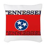 Tennessee.jpg Woven Throw Pillow