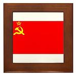 USSRblank.jpg Framed Tile