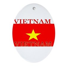 Vietnam.jpg Ornament (Oval)