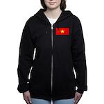 Vietnamblank.jpg Women's Zip Hoodie