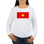Vietnamblank.jpg Women's Long Sleeve T-Shirt