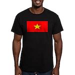 Vietnamblank.jpg Men's Fitted T-Shirt (dark)