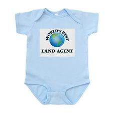 World's Best Land Agent Body Suit