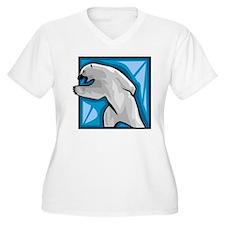 Polar bear drawin T-Shirt