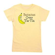 Bananas Over Yia-Yia Girl's Tee