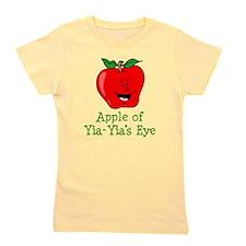 Apple of Yia-Yia's Eye Girl's Tee