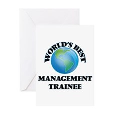 World's Best Management Trainee Greeting Cards