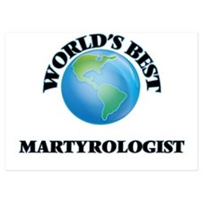 World's Best Martyrologist Invitations