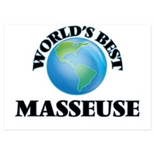World's Best Masseuse Invitations