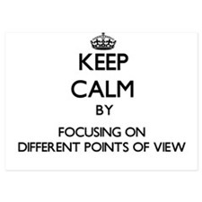 Keep Calm by focusing on Different Poi Invitations
