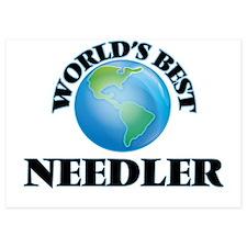 World's Best Needler Invitations