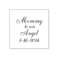 Personalizable Mommy to an Angel Sticker