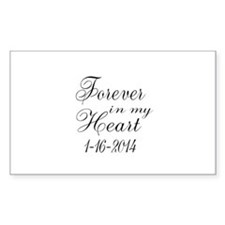 Forever in my Heart Stickers