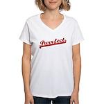 Purrfect Women's V-Neck T-Shirt