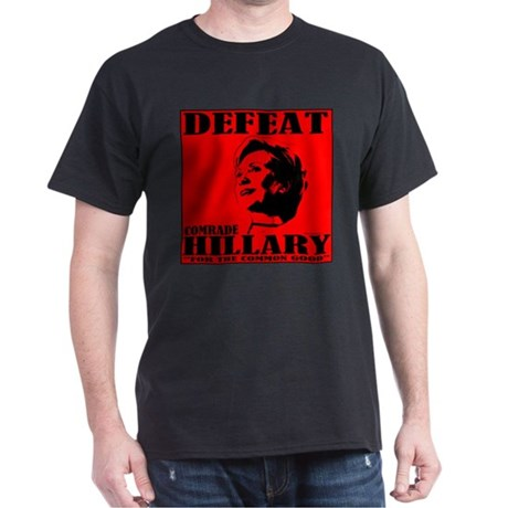 Defeat Comrade Hillary Dark T-Shirt