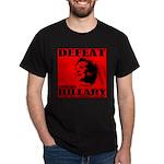 Defeat Comrade Hillary Dark T-Shirt