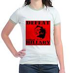 Defeat Comrade Hillary Jr. Ringer T-Shirt