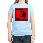 Defeat Comrade Hillary Women's Light T-Shirt